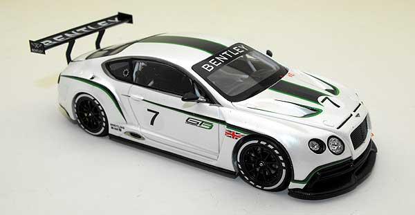 Модель 1 43 bentley continental gt3 concept race car, salon paris 2012